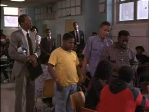 Lean On Me Movie Scene: Cafeteria Chaos Scene