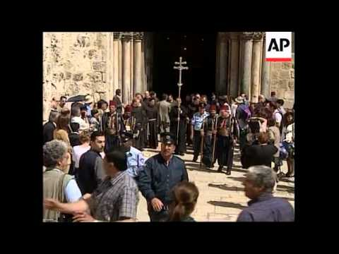 ISRAEL: JERUSALEM: EASTER CELEBRATIONS