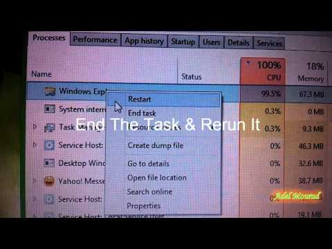 Windows 8.1 Explorer.exe Process taking +90% load of CPU Usage & hangs/freeze with Metro File Search