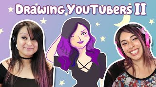 DRAWING YOUTUBERS pt.2 w/ APHMAU