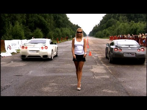 Nissan GT-R Switzer R800 vs Nissan GT-R Stage 1 Music Videos