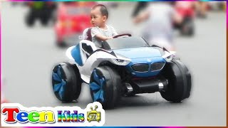 Power Wheels Ride on Toy Cars for Kids - Battery Powered Super Car Playtime Fun - Teen Kids TV