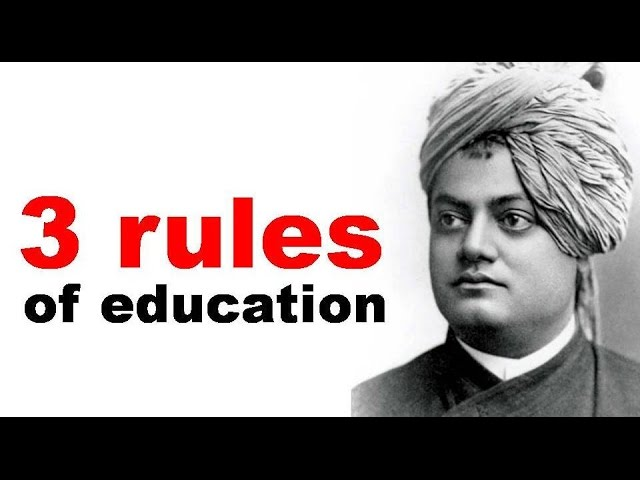 meaning of education by Swami Vivekanand  Meaning of Education