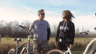 Biktrix Stunner - The world's most comfortable electric cruiser