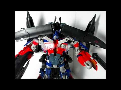 TRANSFORMERS: Revenge of the Fallen Power-Up Prime (Jetwing) (Leader Class) (Se.2 Ep.41)