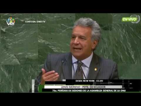 Venezuela - Pdte. Ecuador pide acción continental por crisis migratoria de Venezuela - VPItv