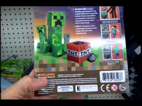 Minecraft Toys Plush Creeper