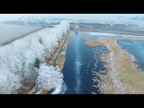 Téli felvételek drónnal