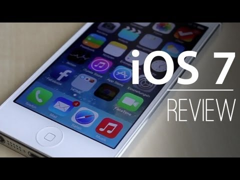 iOS 7 REVIEW / TEST - Alle Neuerungen und Features - Zusammenfassung - Hands-On [Deutsch/German]