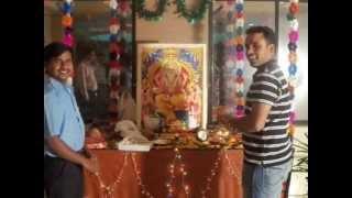 vishwakarma puja 2012 in my compny
