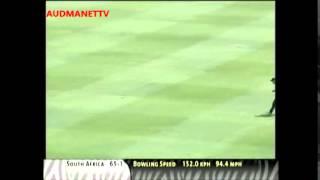 Herschelle Gibbs  4,4,4,4,4,4,4,4,4,4,4,4,4,4,4,4,4,4,4  vs New Zealand 2003