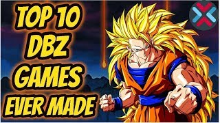 Top 10 BEST Dragon Ball Z Anime Games Ever Released