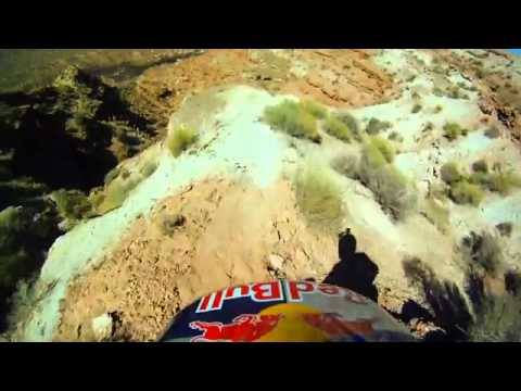 BMX Red Bull downhill Helmetcam