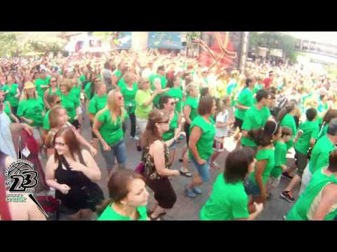 Spokane Hoopfest 2012 Cricket Flashmob
