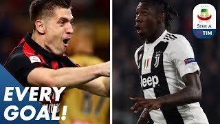 Kean Keeps Scoring! Piątek Nets Against Juve! | EVERY Goal | Serie A