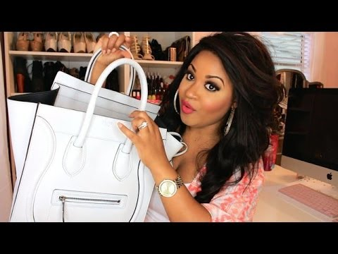 What's in my Bag!? [Celine Mini Luggage]