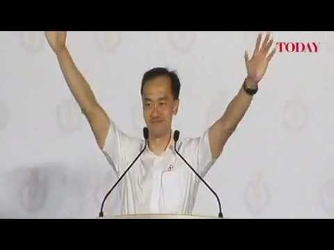 Dr Koh Poh Koon speaks at the PAP rally, Punggol East by-election, Jan 18, 2013