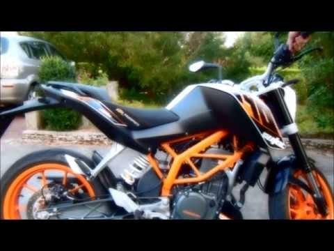 KTM Duke 390 Sound test Stock/Akrapovic/No exhaust
