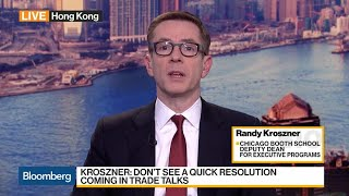 Kroszner: Impact of Trade Disputes Greater on Chinese Economy Overall