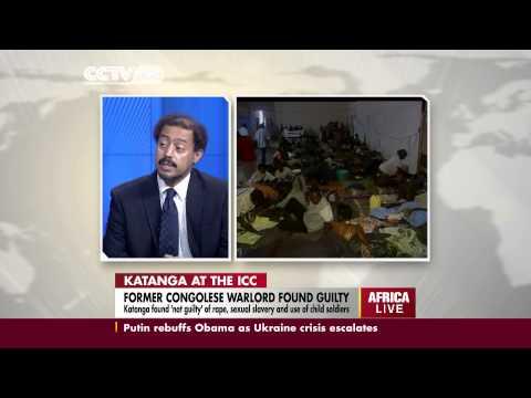 Germain Katanga Charged With 10 Counts of War Crimes