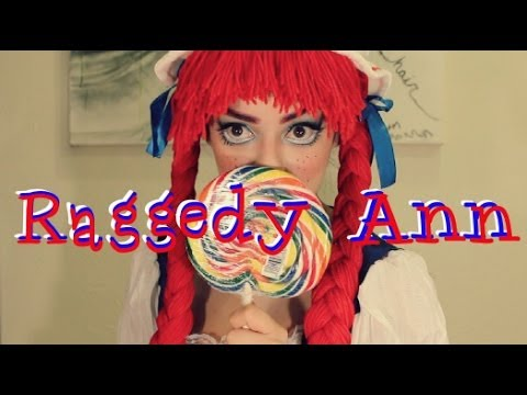 Raggedy Ann Inspired Makeup