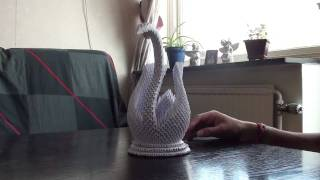 Origami - 3d Swan