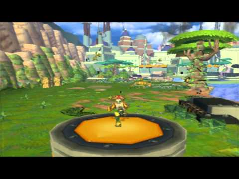 Ratchet and Clank 1. Playstation 2 emulator (PCSX2) (low res 640x480)