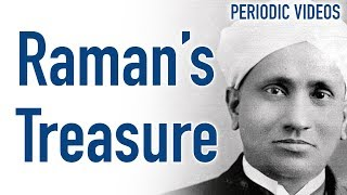 Raman's Nobel Prize (and walking stick) - Periodic Table of Videos