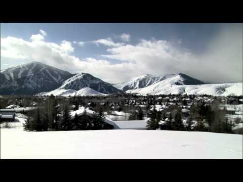 Sun Valley Idaho in the Heart of Winter