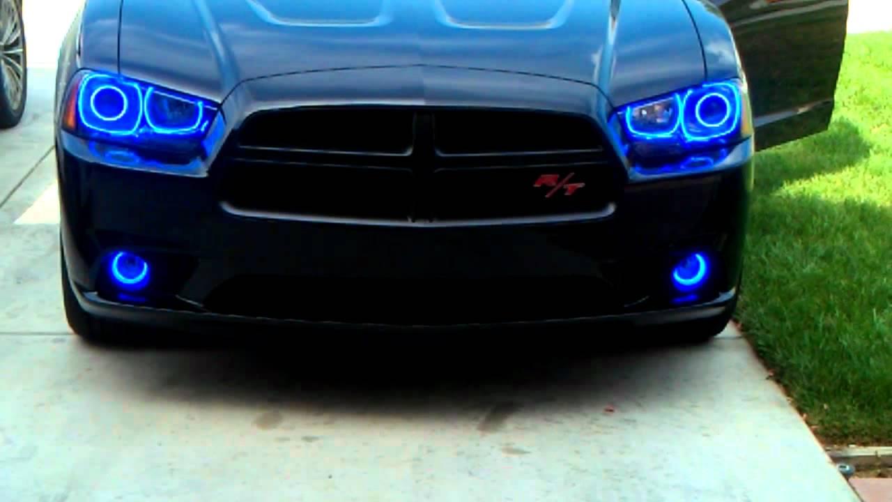 2011 Dodge Charger Rt Halo Kit Youtube