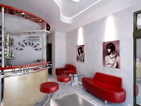 Home salon decorating ideas