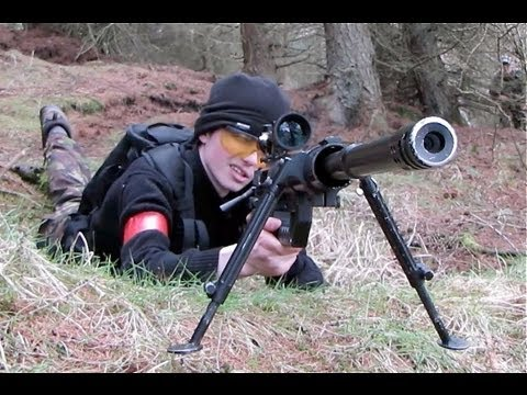 Airsoft War VSR, Cheytac M200 Section8 Scotland HD