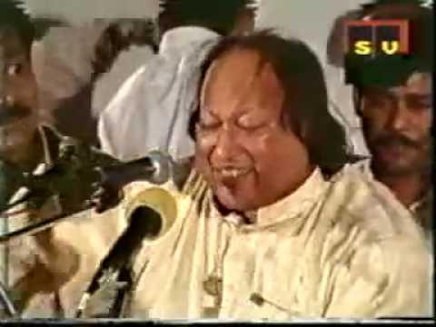 Afreen Afreen - Nusrat Fateh Ali Khan Qawwal singing live Afreen...