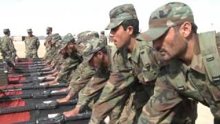 Afghan Army Recruits Commit to God, Country, Duty