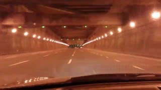 MONTREAL - Tunnel Ville-Marie - Petite ride - Ville-Marie Expressway