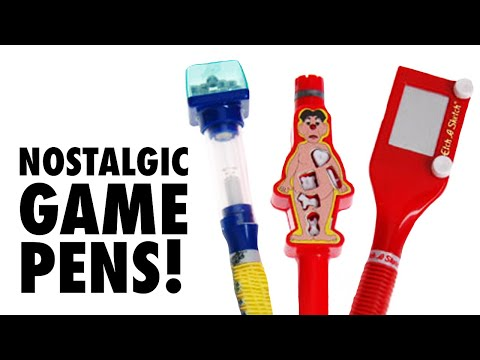 Etch-a-Sketch, Boggle, and Operation -- on your Pen!