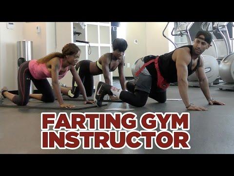 Farting Gym Instructor - Szellentő edző