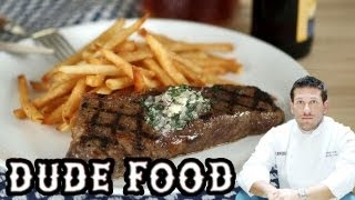 Classic Steak Frites Recipe - Dude Food