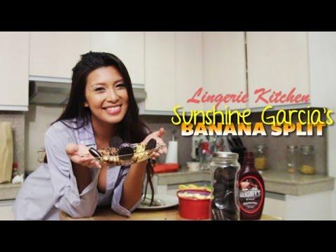 FHM Lingerie Kitchen: Sunshine Garcia