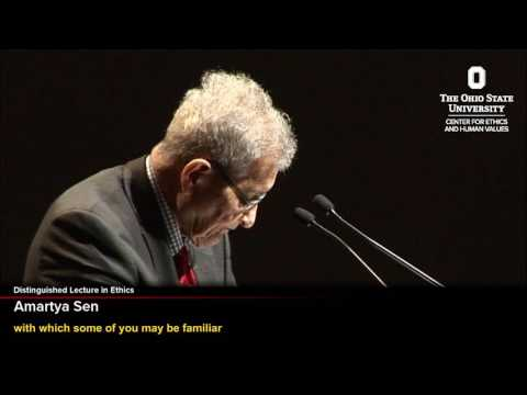 Distinguished Lecture - Amartya Sen - What is Wrong With Inequality?