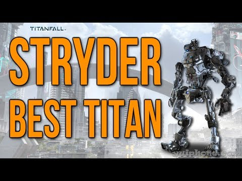 Stryder Titan is Best Titan - Underrated but Awesome! (Titanfall Xbox One Gameplay)
