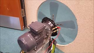 DIY Ultra-low frequncy Rotary Subwoofer - Testing with oscilloscope