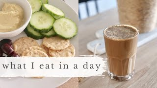 What I Eat in a Day (+ date night)