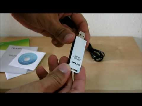 TP-Link TL-WN821N 300Mbps Wireless N USB Adapter (Unboxing and Testing)