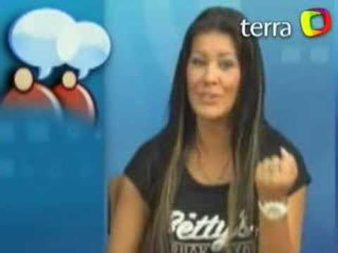 "Terra TV: ""Meu vibrador se cansa de mim"", diz Bruna"