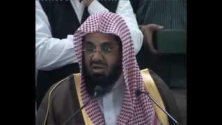Imam-e-Haram (Sa'ud ibn Ibrahim ibn Muhammad ash-Shuraim) JIH markaz visit 3-1