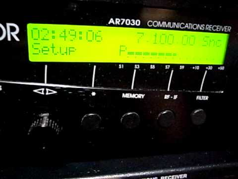 7100kHz Unknown (Radio Pakistan?) 01/Jan/2011