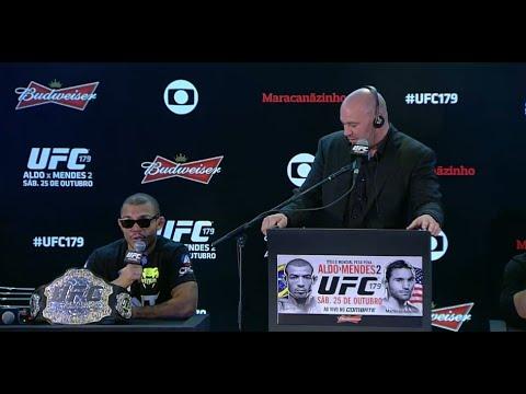 UFC 179: Aldo vs. Mendes 2 - Post-Fight Press Conference