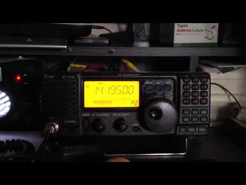 Ham radio pirate 20m bob marley