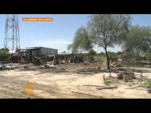 South Sudan town 'trashed by army'